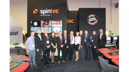 Spintec hails outstanding G2E Las Vegas