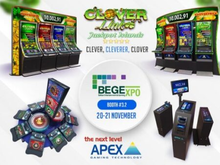 APEX Gaming: Clover Link to take centre stage at BEGE
