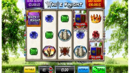 Hit Two Progressive Jackpots at White Knight Slots Game
