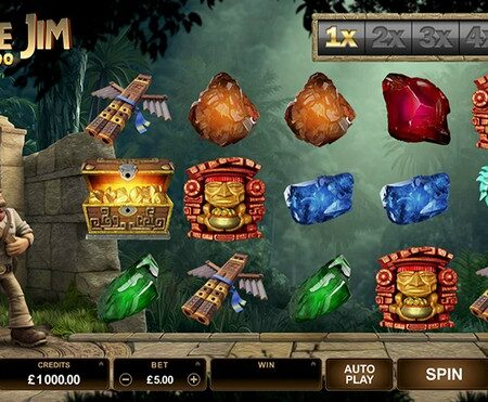 Jungle Jim for adventurous players who want to treasure hunt!