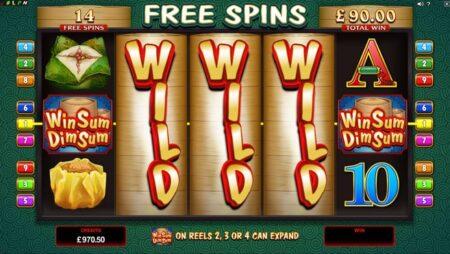 New game at Crazy Vegas casino! Win Sum Dim Sum!