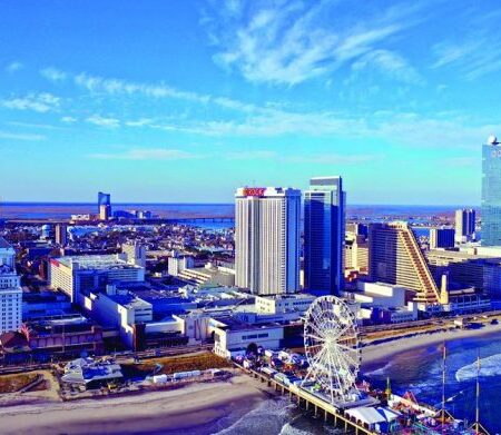 What does Atlantic City need to boost footfall?