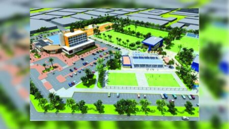 "Construction of Paseo Sol del Río casino complex proceeding ""smoothly"""