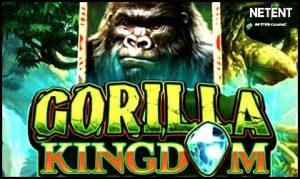NetEnt AB goes ape with its new Gorilla Kingdom video slot