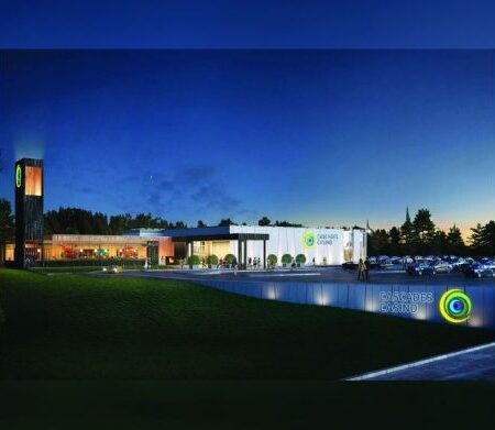 Cascades Casino construction on hold