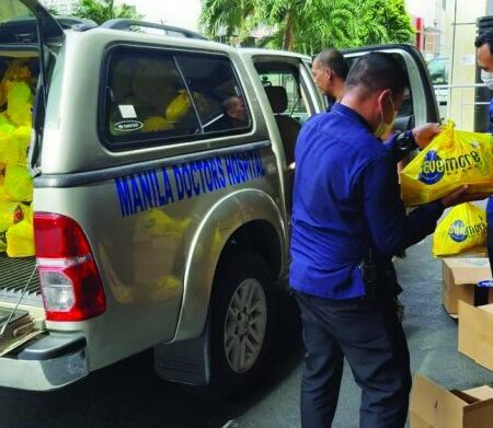 Aristocrat donates 1,700 food packages in the Philippines