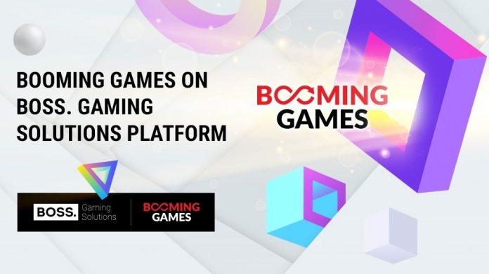 Boss Gaming Solutions Booming Games V2