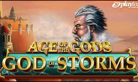 Playtech premieres new Age of the Gods: God of Storms video slot