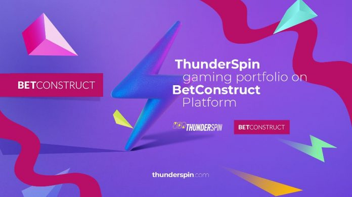 Thunderspin Betconstruct Content Agreement