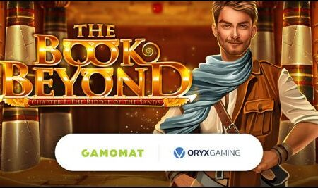 Gamomat launches new The Book Beyond: The Riddle of the Sands video slot