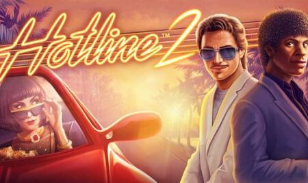 NetEnt releases high-octane sequel to fan-favorite retro slot with Hotline 2