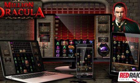 Red Rake Gaming unveils innovative Million Dracula online slot game