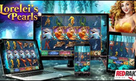 Red Rake Gaming premieres new Lorelei's Pearls video slot
