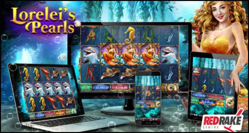Red Rake Gaming premieres new Lorelei's Pearls video slot