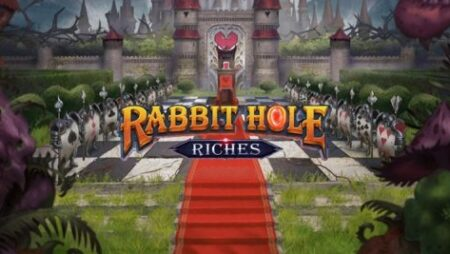 Bonuses and unique features await players in Play'n GO's new video slot Rabbit Hole Riches