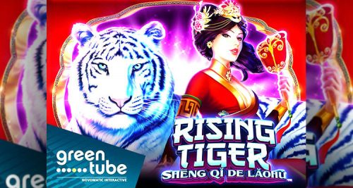 Greentube reveals new Rising Tiger – Shēng qǐ de Lǎohǔ online slot game