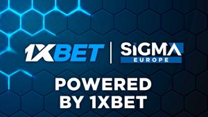 1xBet is the main partner of the innovative SiGMA Europe Virtual Expo