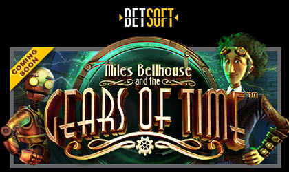 Betsoft Gaming introduces its brand-new online slot release Miles Bellhouse and the Gears of Time