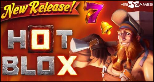 High 5 Games is bringing the heat with new Hot Blox video slot