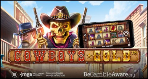 Pragmatic Play Limited staying gilded with new Cowboys Gold video slot