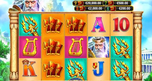 RubyPlay announces brand new slot game Zeus Rush Fever