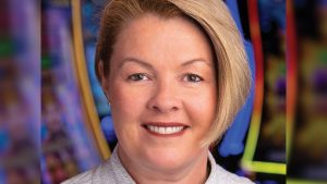 Aristocrat Technologies Boyd Gaming loyalty app Cath Burns
