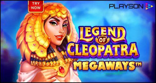 Playson Limited premieres new Legend of Cleopatra: Megaways video slot