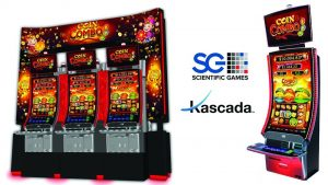 Scientific Games unveils Kascada cabinet