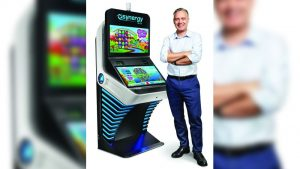 Synergy Blue debuts new Atari-inspired cabinet