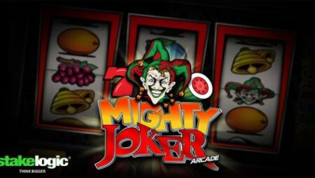 Stakelogic goes traditional with new Mighty Joker Arcade video slot