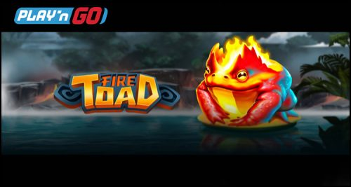 Play'n Go Showing Its Commitment To Creativity With New Fire Toad Video Online Slot