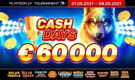 Playson May CashDays worth €60,000 in shared prize pool; debuts new online slot, Divine Dragon: Hold and Win