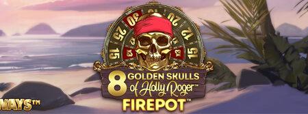 8 Golden Skulls of Holly Roger™ Megaways™