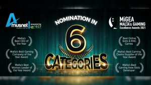 EGT Interactive and Amusnet Gaming shortlisted at MiGEA Awards 2021