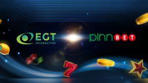 EGT Interactive grows Serbian footprint with Pinnbet content deal