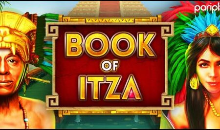 Explore mysterious jungles with the new Book of Itza online slot from Pariplay Limited