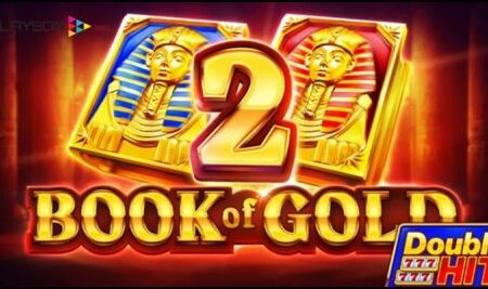 Playson Limited rolls out its new Book of Gold 2: Double Hit video slot
