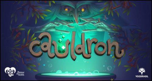 Yggdrasil Gaming Limited debuts new Cauldron video slot