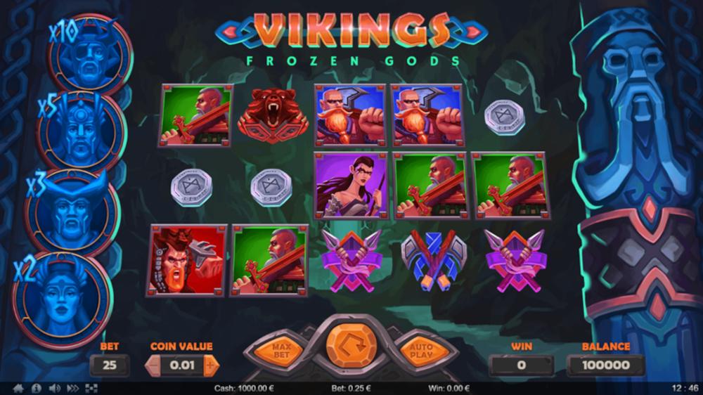 Thunderspin Vikings Frozen Gods