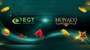 EGT Interactive grows Slovak footprint with Monacobet content deal