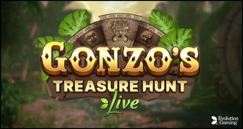 Evolution Gaming Group AB goes live with Gonzo's Treasure Hunt