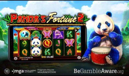 Pragmatic Play brings back its fun-loving panda in Panda's Fortune 2