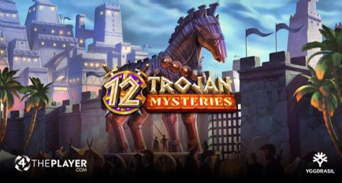 4Theplayer's New Video Slot 12 Trojan Mysteries Now Available Across Yggdrasil Network