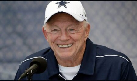 Dallas Cowboys owner in favor of bringing legalized sportsbetting to Texas