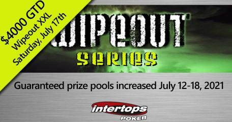 Intertops Poker begins Wipeout Poker Tournament Series this week