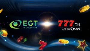 EGT Interactive announces landmark expansion into Switzerland via a partnership with Casino Davos AG