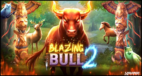 Kalamba Games Limited Builds On A Winner With New Blazing Bull 2 Online Video Slot