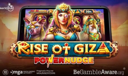 """Pragmatic Play introduces new """"high-tech"""" game mechanic in latest video slot release: Rise of Giza PowerNudge"""