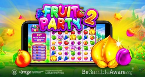 Pragmatic Play Launches Sequel To Popular Fruit Party Online Slot