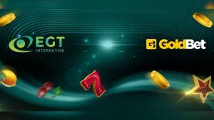 EGT Interactive announces expansion in Italy via Goldbet partnership